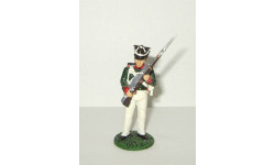 фигурка солдат Рядовой Одесского пехотного полка 1812 г. № 75 Наполеоновские войны GE Fabbri 1:32, фигурка, scale32