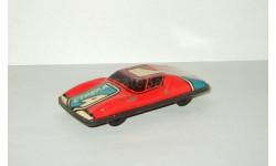 Игрушка автомобиль. Спортивный. Жесть. Cделано в СССР. 1980-е гг. 1:43, масштабная модель, scale43