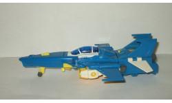 Игрушка Самолет трансформер робот. Длина - 20 см. СССР. 1:72, масштабная модель, scale72