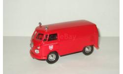 Фольксваген VW Volkswagen T1 Пожарный 1959 Solido 1:43 Made in France БЕСПЛАТНАЯ доставка, масштабная модель, 1/43