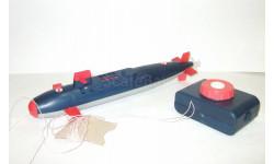 Игрушка. Подводная Лодка. 1980-е гг. Длина 30 см. Завод 'Тиконд' Сделано в СССР. 1:87, масштабная модель, scale87