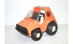Игрушка Jeep Джип Бархан 'Супер' 4х4 Сделано в СССР Длина 19 см 1:18, масштабная модель, 1/18