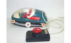 Игрушка Вездеход Марсоход Гусеничный. Сделано в СССР. 1980-е гг Длина 26 см 1:20, масштабная модель, scale18