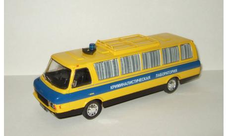микро автобус Зил 118 (119) КЛ Криминалистическая лаборатория СССР IXO IST Автомобиль на службе 1:43, масштабная модель, Автомобиль на службе, журнал от Deagostini, scale43