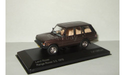 Land Rover Range Rover 3.5 4x4 1978 IXO Whitebox 1:43, масштабная модель, 1/43
