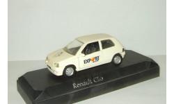 Рено Renault Clio Expo 1992 Solido 1:43 4544 Made in France БЕСПЛАТНАЯ доставка, масштабная модель, scale43