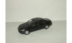 Мерседес Mercedes Benz S-class W 221 Черный Autoart 1:43