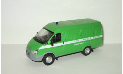 Газ 2705 Газель (цельнометаллический фургон) Специальная ФСИН ГУИН МинЮст IST IXO Автомобиль на Службе 1:43, масштабная модель, Автомобиль на службе, журнал от Deagostini, scale43