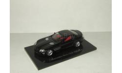Мерседес Макларен Mercedes Benz SLR McLaren 2003 Черный Minichamps 1:43
