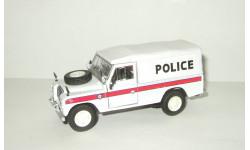 Land Rover 130 Series III Defender 4x4 1972 Police Hongwell Cararama 1:43 БЕСПЛАТНАЯ доставка, масштабная модель, 1/43, Bauer/Cararama/Hongwell