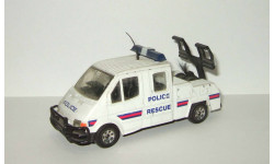 Форд Ford Transit Police Rescue Эвакуатор 1992 Corgi 1:43 Раритет, масштабная модель, scale43