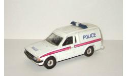 Форд Ford Escort Фургон Police 1989 Corgi 1:36 Раритет, масштабная модель, scale35