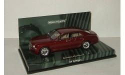 лимузин Бентли Bentley Mulsanne 2010 Minichamps 1:43 436139901, масштабная модель, 1/43