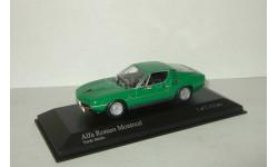 Альфа Ромео Alfa Romeo Montreal 1973 Minichamps 1:43 400120621, масштабная модель, 1/43