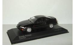Хонда Honda Prelude 1992 Черный Minichamps 1:43 400161921, масштабная модель, scale43