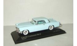 Линкольн Lincoln Continental Mk II 1956 Голубой Minichamps 1:43 400082304, масштабная модель, 1/43