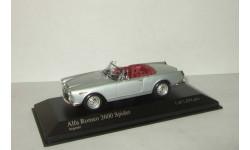 Альфа Ромео Alfa Romeo 2600 Spider 1964 Minichamps 1:43 400120631, масштабная модель, 1/43