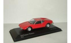 De Tomaso Pantera 1972 Minichamps 1:43 400127500, масштабная модель, scale43