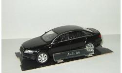 Ауди Audi A6 C6 2005 Черный Cararama Hongwell 1:43 БЕСПЛАТНАЯ доставка