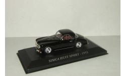 Симка Simca Huit Sport 1952 IXO Altaya 1:43, масштабная модель, 1/43