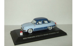 Панар Panhard Dyna Z12 Grand Standing 1957 IXO Nostalgie 1:43 No 23, масштабная модель, scale43