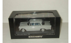 Мерседес Бенц Mercedes Benz 190 W110 Sedan 1961 Minichamps 1:43 400037200, масштабная модель, 1/43, Mercedes-Benz