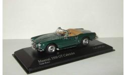 Мазерати Maserati 3500 GT Vignale Spyder 1961 Minichamps 1:43 400123234, масштабная модель, 1/43