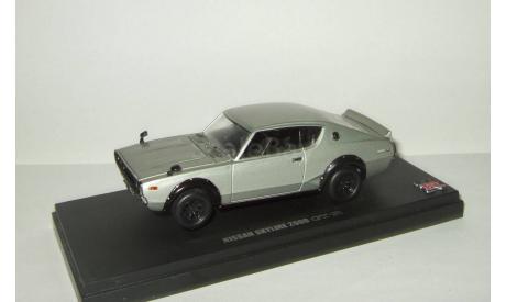 Ниссан Nissan Skyline 2000 GT-R 1972 Kyosho 1:43 KPGC110 Открывается капот БЕСПЛАТНАЯ доставка, масштабная модель, scale43