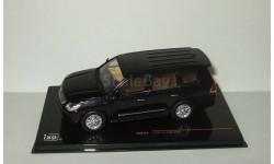 Лексус Lexus LX570 2009 4x4 Черный IXO 1:43 MOC123, масштабная модель, 1/43, IXO Road (серии MOC, CLC)