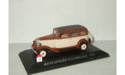 Ситроен Citroen Traction 15 A Familiale IXO Nostalgie 1:43 № 119, масштабная модель, Citroën, scale43