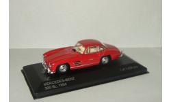 Мерседес Бенц Mercedes Benz 300 SL 1954 Gullwing W198 IXO Whitebox 1:43, масштабная модель, 1/43, Mercedes-Benz
