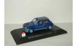 Рено Renault 5 Turbo 1981 Norev Nostalgie 1:43 № 122, масштабная модель, scale43
