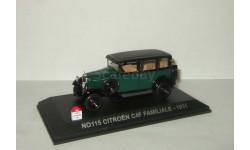 Ситроен Citroen 4 F Familiale 1931 Norev Nostalgie 1:43 № 115, масштабная модель, Citroën, scale43
