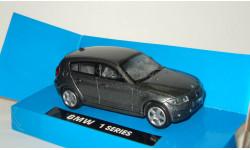 БМВ BMW 1 series E87 2005 New Ray 1:43, масштабная модель, 1/43