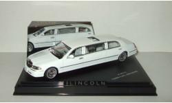 лимузин Линкольн Lincoln Town Car Limousine 2000 Белый Vitesse 1:43 36312, масштабная модель, 1/43