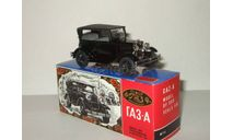 Газ А 1932 Черный постномерная СССР Агат Тантал Радон 1:43, масштабная модель, 1/43, Агат/Моссар/Тантал