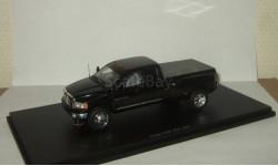 Додж Dodge Ram 3500 2005 Пикап 4х4 Черный Spark 1:43 Спецзаказ, масштабная модель, scale43