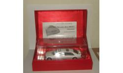 лимузин Мерседес Бенц Mercedes Benz S 600 L Pullman 1997 W140 Белый Paudi Models 1:43, масштабная модель, 1/43, Mercedes-Benz