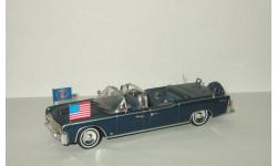 лимузин Линкольн Lincoln Continental SS 100 X 1963 президент США Джон Кеннеди Atlas 1:43, масштабная модель, scale43