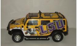 Хаммер Hummer H2 команда LSU Tigers 4x4 Highway 61 1:18, масштабная модель, 1/18