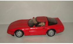 Шевроле Корвет Chevrolet Corvette 1996 Maisto (Таиланд!) 1:18, масштабная модель, 1/18, Maisto-Swarovski