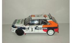 Лянча Lancia Delta HF Evo 2 1993 Rally Acropolis C. Sainz & L. Moya Kyosho 1:18, масштабная модель, 1/18
