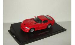 Додж Dodge Viper RT 10 1996 Красный Universal Hobbies 1:43, масштабная модель, scale43