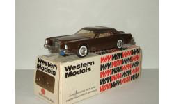 Линкольн Lincoln Continental Mark IV 1976 Western Models 1:43 WP102, масштабная модель, 1/43