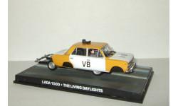 Ваз 2103 Жигули Lada 1500 из к/ф 'Искры из глаз' Universal Hobbies James Bond series 1:43, масштабная модель, 1/43