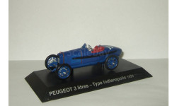 Пежо Peugeot 3 Litres Type Indianapolis 1920 IXO Altaya 1:43, масштабная модель, 1/43