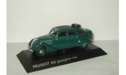 Пежо Peugeot 402 Gazogene 1939 Altaya 1:43, масштабная модель, scale43