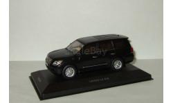 Лексус Lexus LX570 2009 4x4 Черный IXO VVM 1:43 VVM104, масштабная модель, 1/43, IXO Road (серии MOC, CLC)