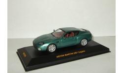 Астон Мартин Aston Martin DB7 Zagato British Racing Green IXO 1:43 MOC058, масштабная модель, 1/43, IXO Road (серии MOC, CLC)