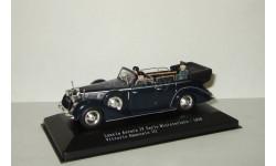 Lancia Astura IV Serie Ministeriale 1938 + фигурки и король Италии Vittorio Emanuele Starline 1:43, масштабная модель, 1/43